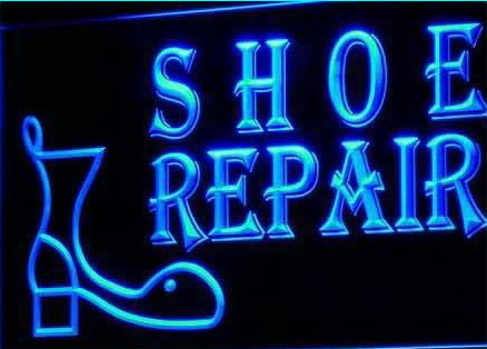 OPEN Shoe Repair Shop Neon Light sign