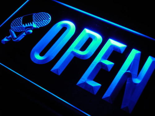 OPEN Studio On The Air Microphone Light Sign