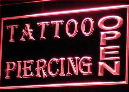 OPEN Tattoo Piercing Shop