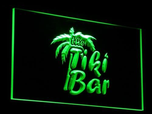 OPEN Tiki Bar Displays Club Bar Neon Light Signs