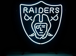 Oakland Raiders Classic Neon Light Sign 17 x 14