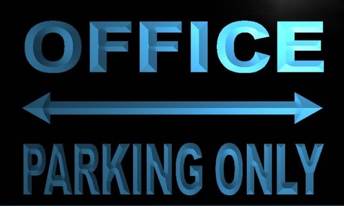 Office Parking Only Neon Light Sign