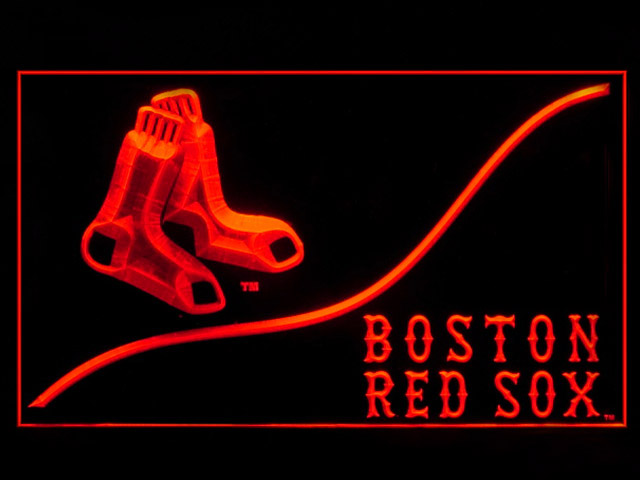 Boston Red Sox Cool Shop Neon Light Sign