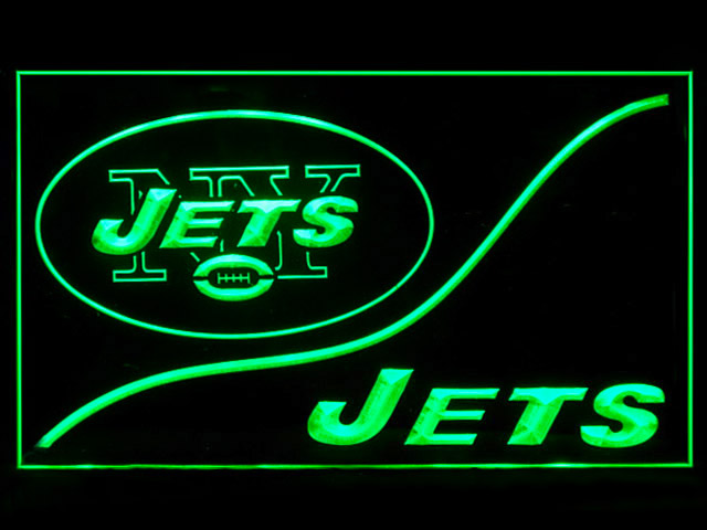 New York Jets Cool Display Shop Neon Light Sign