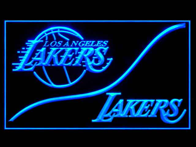 Los Angeles Lakers Cool Shop Neon Light Sign