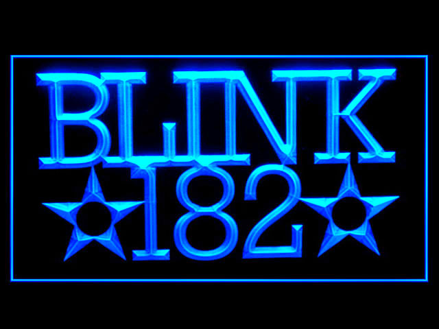 Blink 182 Bar Display Led Light Sign