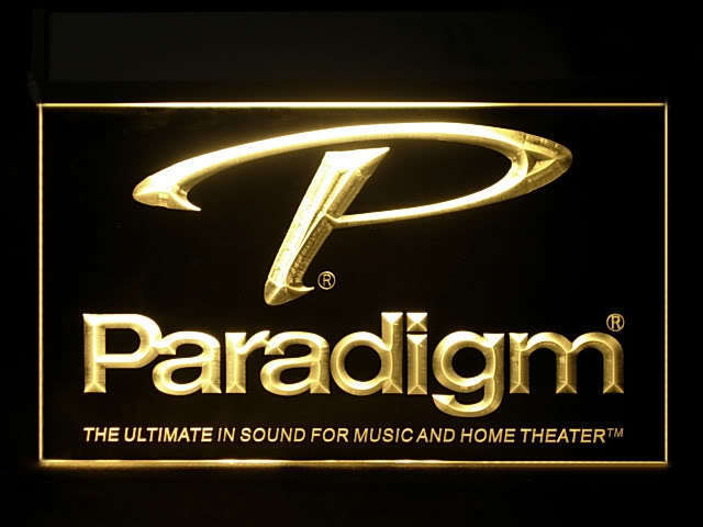 Paradigm Speakers LED Sign