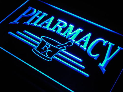 Pharmacy Compounding Shop Neon Light Sign