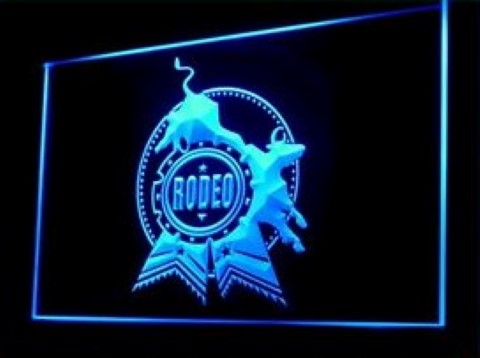 Rodeo Western Cowboy LED Neon Sign