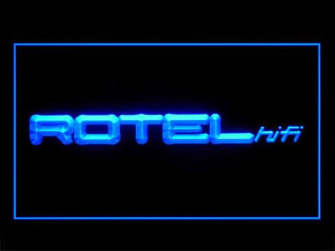 Rotel LED neon sign
