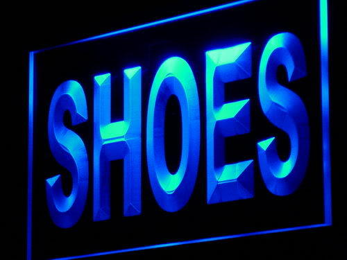 Shoes Supplier Shop Display neon sign