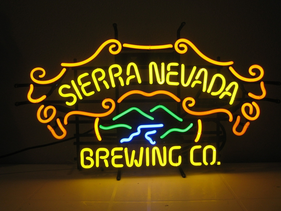 Sierra Nevada Brewing Co Classic Neon Light Sign 22x15
