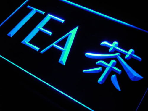 Tea Chinese Word LED Light Sign