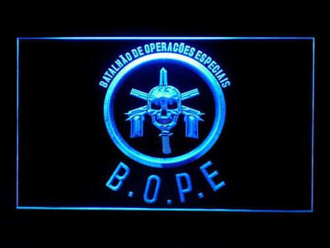 Tropa De Elite Bope LED Neon Sign