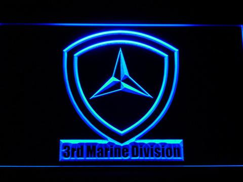 US Marine Corps 3rd Marine Division LED Neon Sign