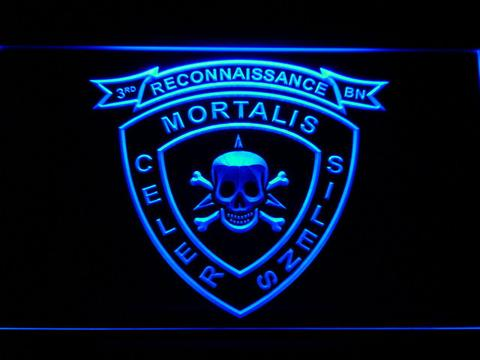 US Marine Corps 3rd Recon Battalion LED Neon Sign