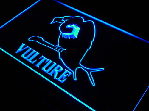 Vulture American Home Birds Gift Neon Light Sign