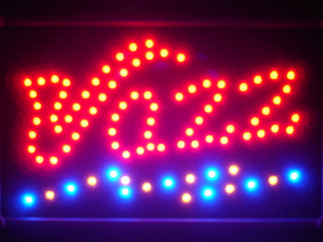 Jazz Pub Bar Beer Led Neon Sign WhiteBoard