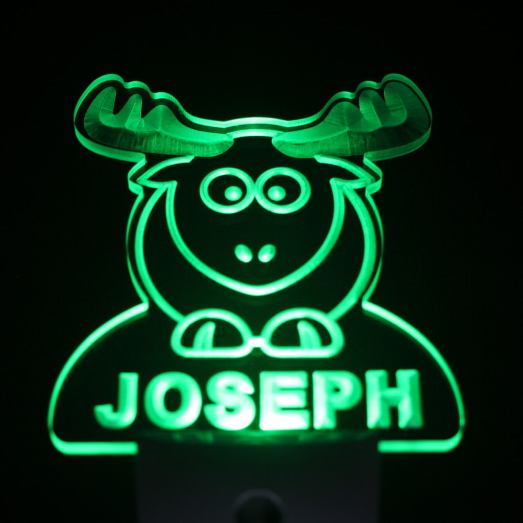 Elk Personalized Day Night Sensor LED Night Light Green
