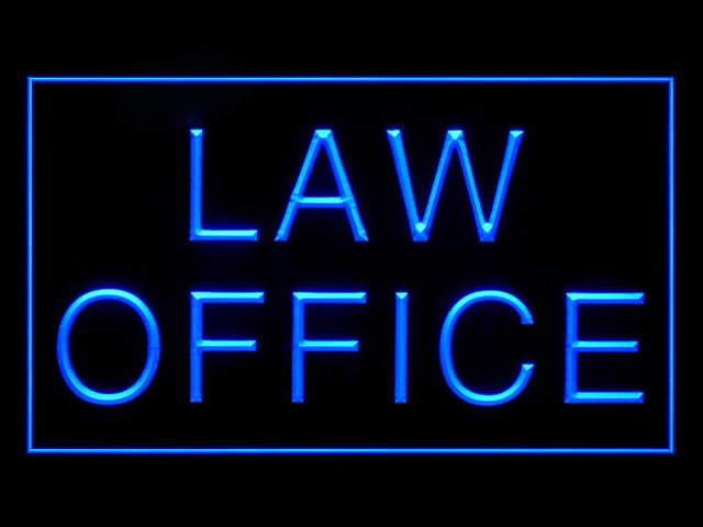 Law Office Consultant Bar Beer Neon Light Sign