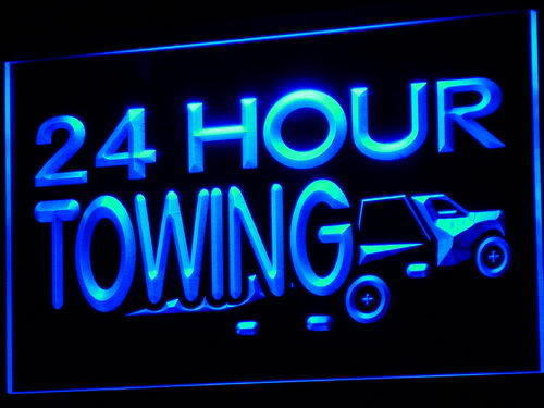 24 Hours Towing LED Light Sign