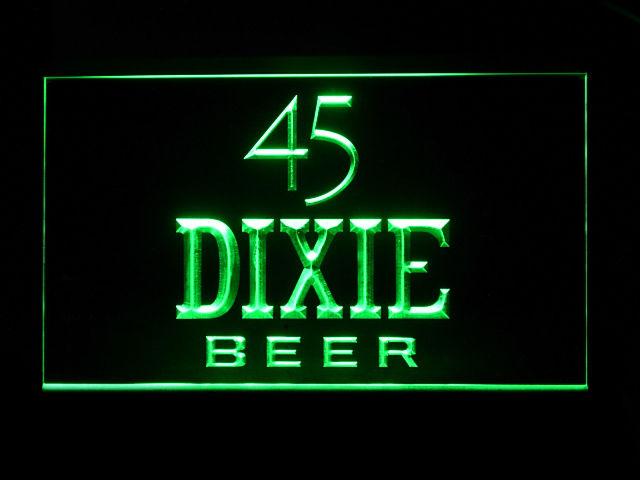 45 Dixie Beer Logo Neon Sign