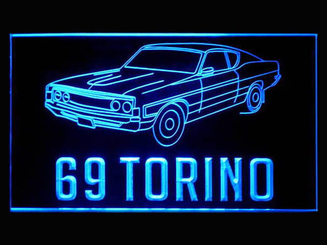 69 Torino LED Light Sign