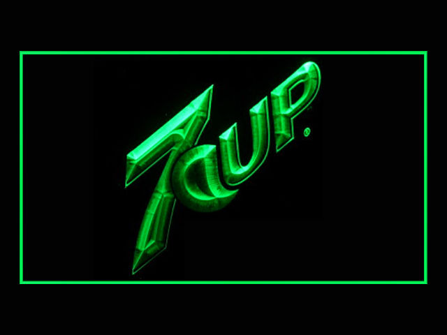 7up Logo Neon Light Sign