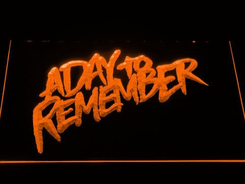 A Day to Remember Homesick LED Neon Sign