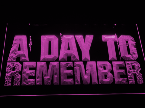 A Day to Remember LED Neon Sign