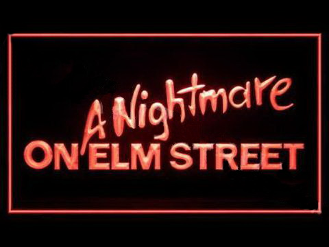 A Nightmare On Elm Street 2 LED Neon Sign
