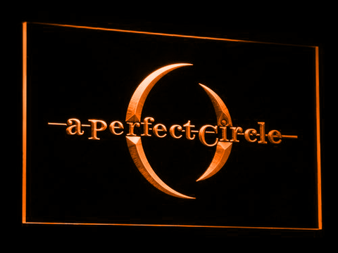 A Perfect Circle LED Neon Sign