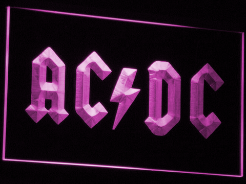 AC DC Let There Be Rock LED Neon Sign