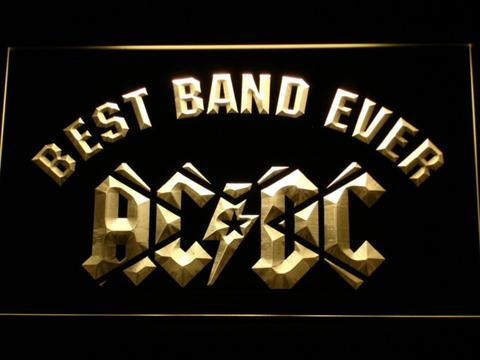 AC DC Star Best Band Ever LED Neon Sign