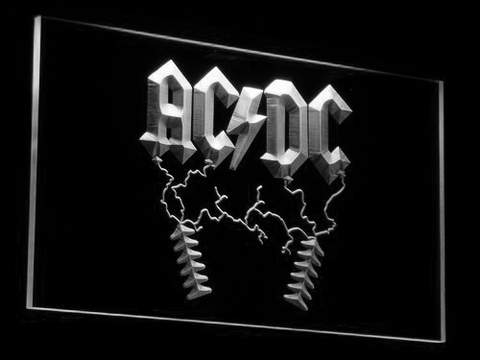 AC DC Thunderstruck LED Neon Sign