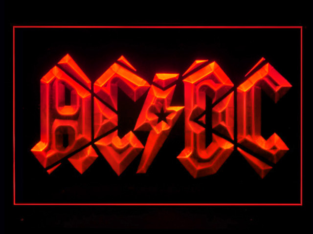 ACDC Band Neon Light Sign