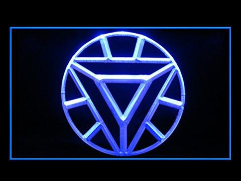 ARC Reactor Iron Man LED Neon Sign