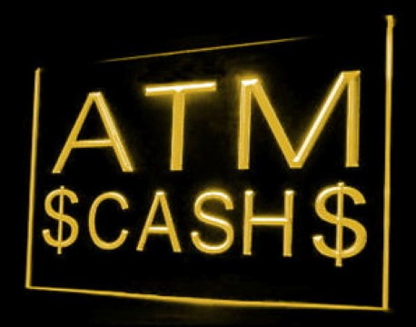 ATM Cash Machine LED Neon Sign