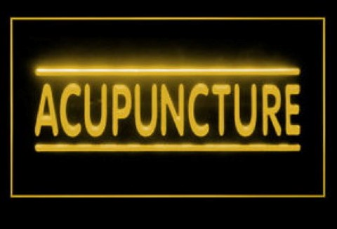 Acupuncture Chinese LED Neon Sign
