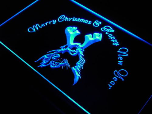 Afghan Hound Dog Xmas Gift Neon Light Signs