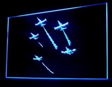 Air Show Showtime LED Neon Sign
