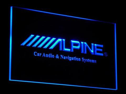 Alpine Car Audio and Navigation Systems LED Neon Sign