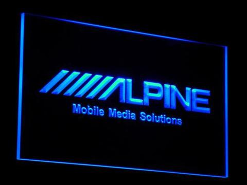 Alpine Mobile Media Solutions LED Neon Sign