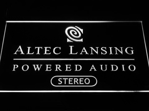 Altec Lansing LED Neon Sign