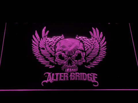 Alter Bridge Skull LED Neon Sign