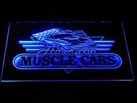American Muscle Cars LED Neon Sign