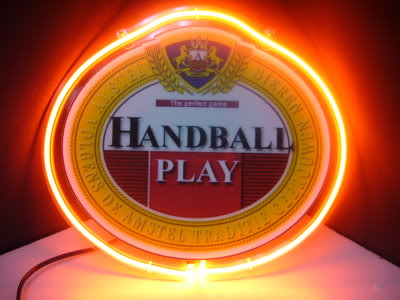 Amstel Handball Play Neon Sign