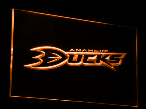 Anaheim Ducks LED Neon Sign