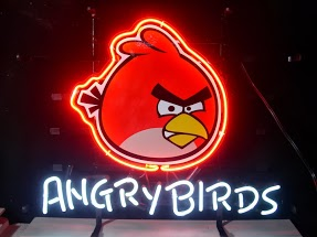 Angry Birds Classic Neon Light Sign 18 x 14