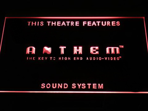 Anthem Sound System LED Neon Sign